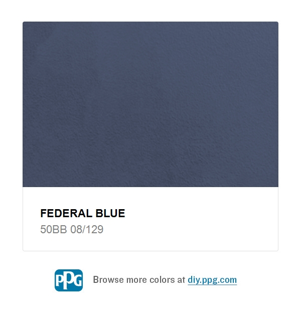 Federal blue - Federal style interior paint colors ...
