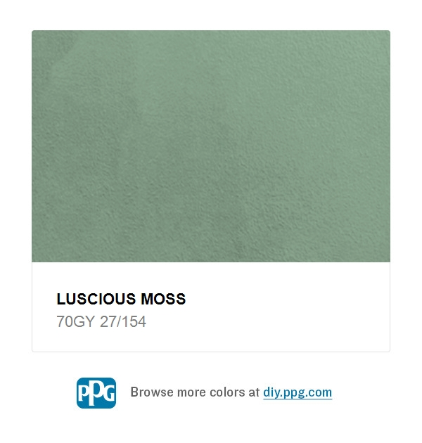 Moss Green Paint Colors: Luscious Moss