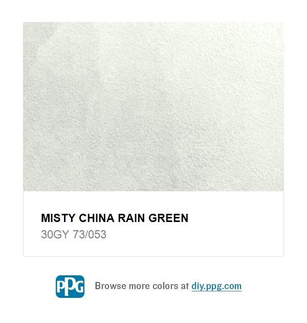 Misty China Rain Green