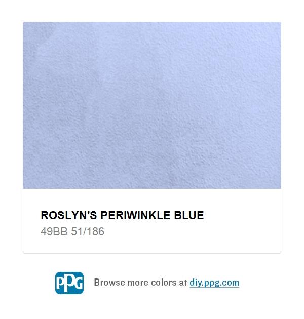 Roslyns Periwinkle Blue