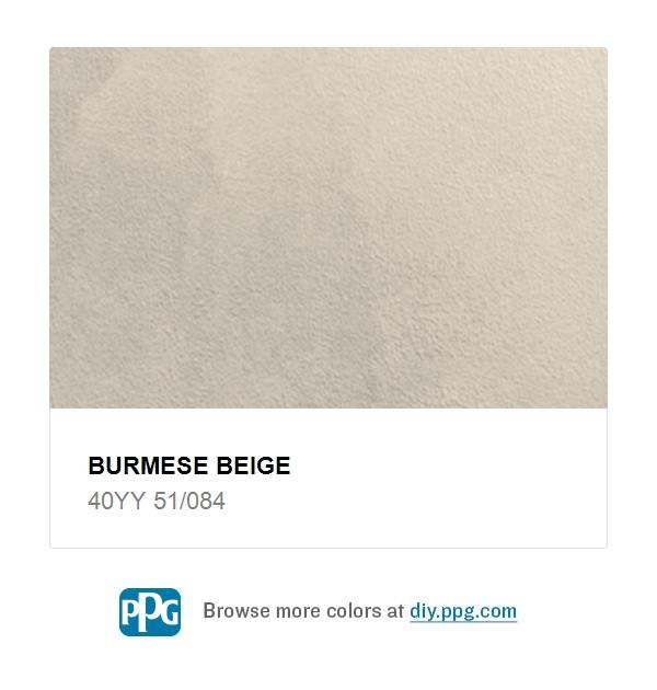 Burmese Beige