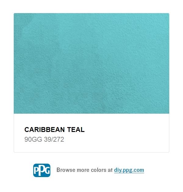 Caribbean Teal