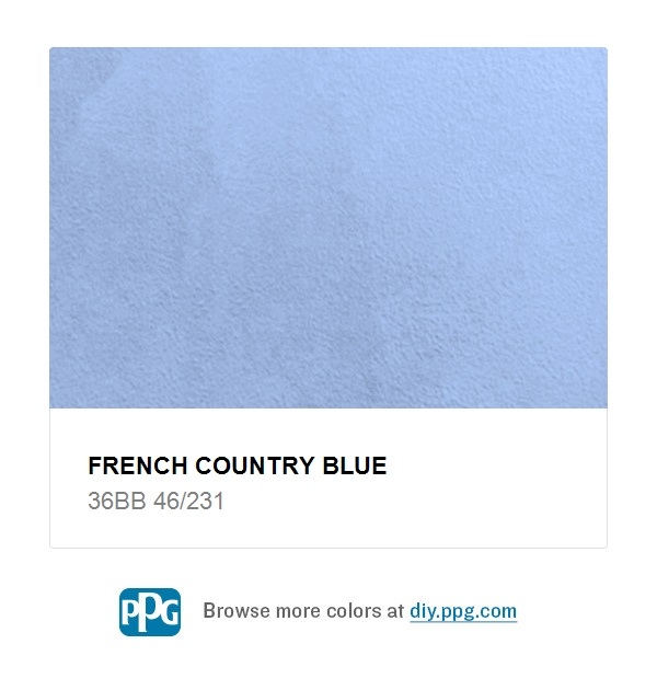 French Country Blue