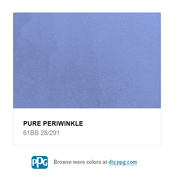 Pure Periwinkle